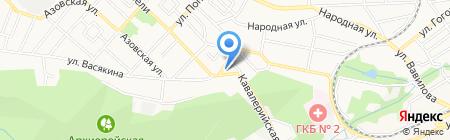 Шашлык-Машлык на карте Ставрополя