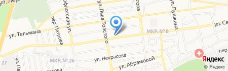 Ковчег-Фауна на карте Ставрополя