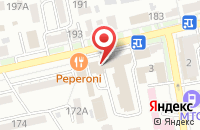 Схема проезда до компании CtrlWeb в Ставрополе