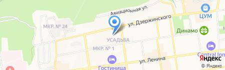 Детский лечебно-консультативный центр на карте Ставрополя