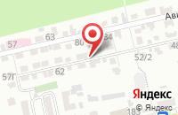 Схема проезда до компании Студия-Драйв в Ставрополе