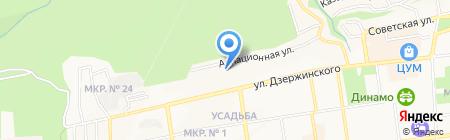 Юридические услуги на карте Ставрополя