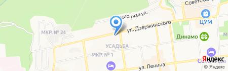 Агентство безопасности Доманского на карте Ставрополя
