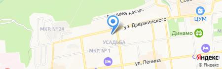 Ставропольская мониторинговая компания на карте Ставрополя