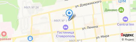 Адвокатская консультация №119 на карте Ставрополя