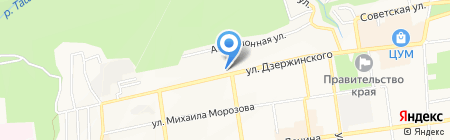 Научно-производственный инженерно-геологический центр на карте Ставрополя