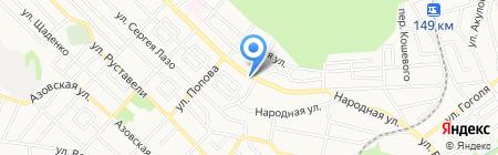 Номинал на карте Ставрополя