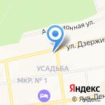 Формула Потолков-СК на карте Ставрополя