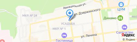 Травматологический пункт на карте Ставрополя