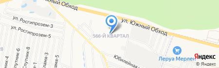 Средняя общеобразовательная школа №39 на карте Ставрополя