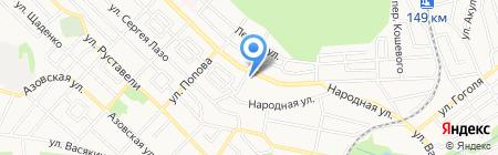 Межшкольный учебный комбинат на карте Ставрополя
