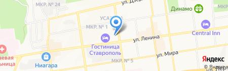 СТАВРОПОЛЬВОДСТРОЙ на карте Ставрополя