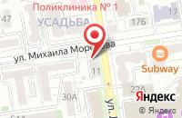 Схема проезда до компании Альфа Принт в Ставрополе