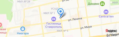 Городская Сберегательная касса на карте Ставрополя