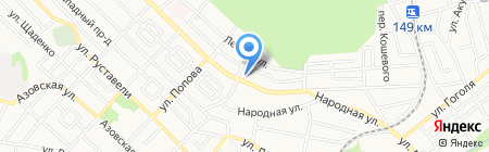 Алиса на карте Ставрополя