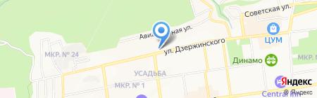 Cristal на карте Ставрополя