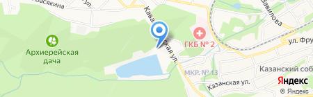 Парус на карте Ставрополя