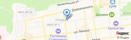 СПАСАТЕЛЬ на карте Ставрополя