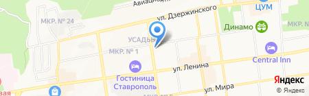 Сомелье на карте Ставрополя