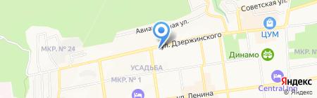 GO! Touristic на карте Ставрополя
