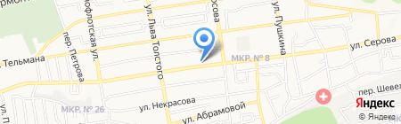 Santerra на карте Ставрополя