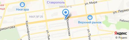 Вириса Мебель на карте Ставрополя