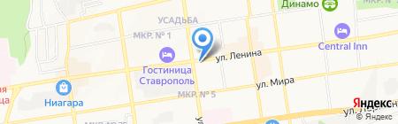 Upgrade на карте Ставрополя