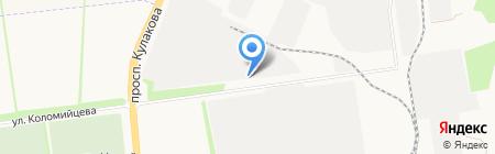 СТАВРОПОЛЬСКАЯ НЕФТЕБАЗА на карте Ставрополя