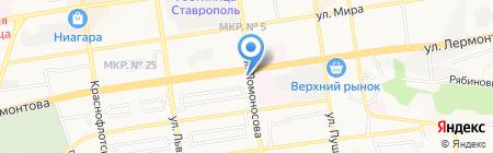 Формула света на карте Ставрополя