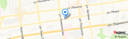 Розовый слон на карте Ставрополя