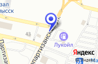 Схема проезда до компании АВТОМАСТЕРСКАЯ ТЕХНОСЕРВИС в Невинномысске
