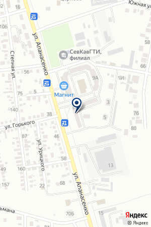 АВТОМАГАЗИН КОМЕТА на карте Невинномысска