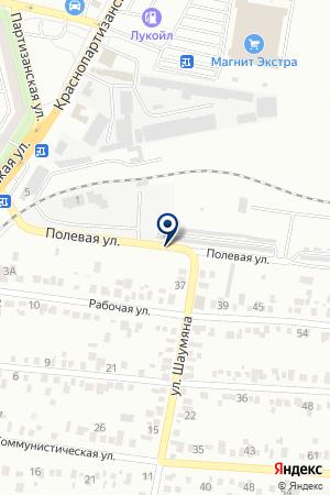 ГСК СТРЕЛА на карте Невинномысска
