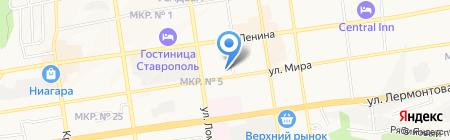 ВНИИОК на карте Ставрополя