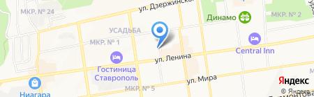 ЮрСофт на карте Ставрополя