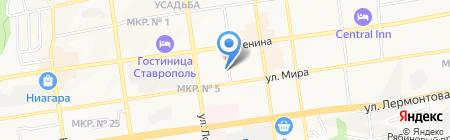 Ставропольстром на карте Ставрополя