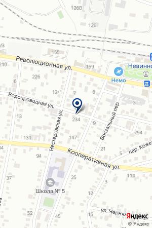 АВТОСТОЯНКА на карте Невинномысска
