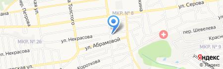 РашЕль на карте Ставрополя