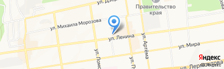 Proffline на карте Ставрополя