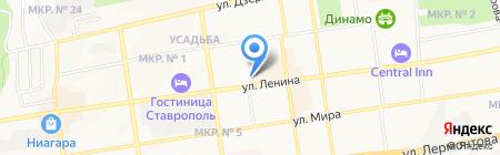 Магазин антенного оборудования на карте Ставрополя