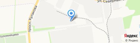 Банкомат ЮниКредит Банк на карте Ставрополя