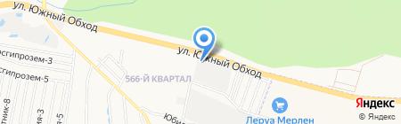 Франсмобиль на карте Ставрополя