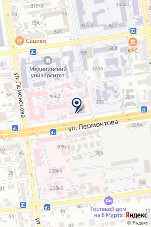 ГУЗ СТАВРОПОЛЬСКАЯ КРАЕВАЯ СТАНЦИЯ ПЕРЕЛИВАНИЯ КРОВИ на карте Лермонтова