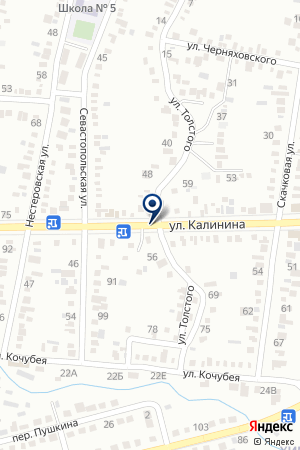 АЗС № 9 КОНДОР на карте Невинномысска