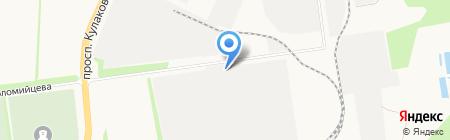 Брусит на карте Ставрополя