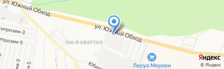 НДК Моторс на карте Ставрополя