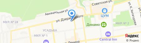 Почтовое отделение №9 на карте Ставрополя