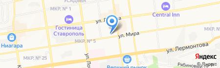 ИТ-ВИДЕО на карте Ставрополя