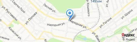 Участковая ветеринарная лечебница на карте Ставрополя