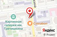 Схема проезда до компании Новоалександровские колбасы в Ставрополе